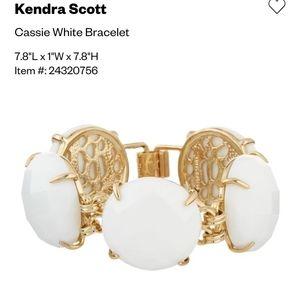 Kendra Scott Classic White Cassie Bracelet